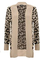 Chuncky Leopard Print Long Sleeve Cardigan