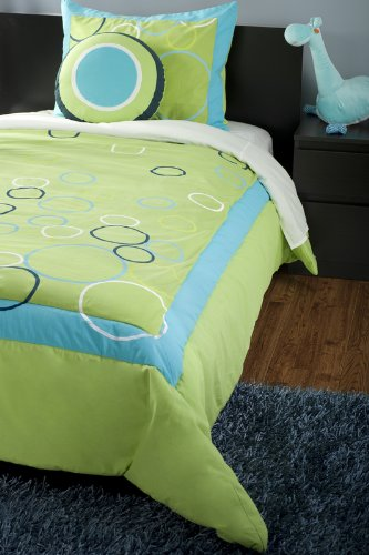 Navy And Lime Green Bedding front-126155