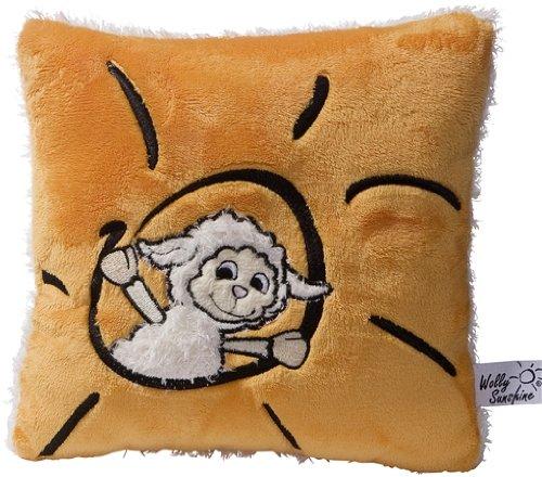 Cojin de peluche oveja en color naranja - 20cm