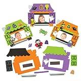 Amazon.co.jpおばけ屋敷 スポンジ フォトフレーム キット マグネット付(5個入り)ハロウィーンのディスプレイ、子供達の手作り、思い出のプレゼントに