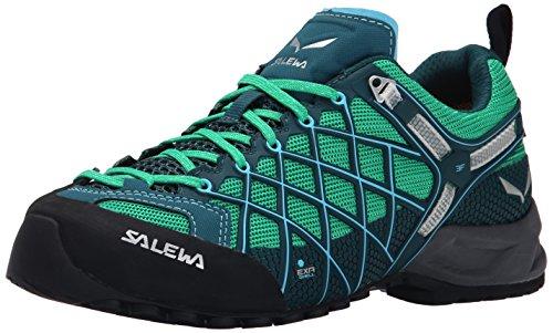 Salewa - Ws Wildfire S Gtx Scarpe Da Trekking da donna - Turchese (cypress/river blue) - 40