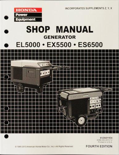 Honda es6500k2 a/a generator, jpn, vin# ea1-1160001 to ea1-9999999.