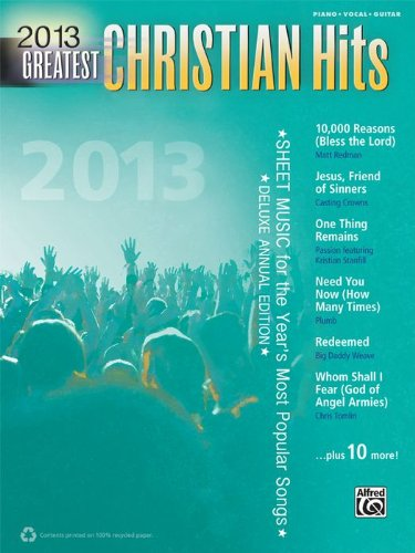 Alfred 2013 Greatest Christian Hits P/V/C Book (Good Morning Song Mandisa compare prices)