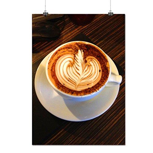 Coupe De Café Énergie Boisson Matte/Glacé Affiche A2 (60cm x 42cm) | Wellcoda