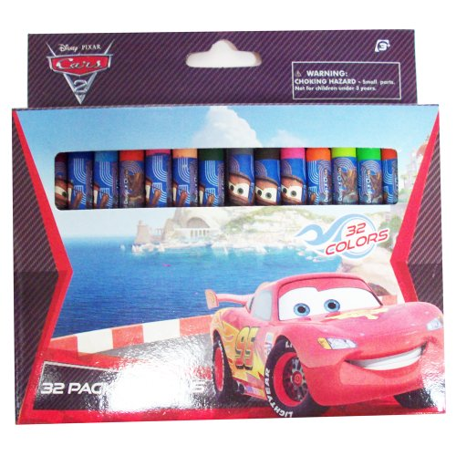 Disney Cars 32color Crayon Set by N.D - 1