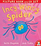 Jack Tickle Incy Wincy Spider (Picture Book & CD)