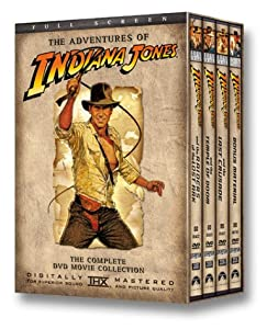 The Adventures of Indiana Jones (Raiders of the Lost Ark / The Temple of Doom / The Last Crusade) (Full Screen) [Import]