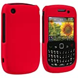 Red Snap-On Hard Skin Case Cover for Blackberry Curve 8520 8530 3G 9300 9330