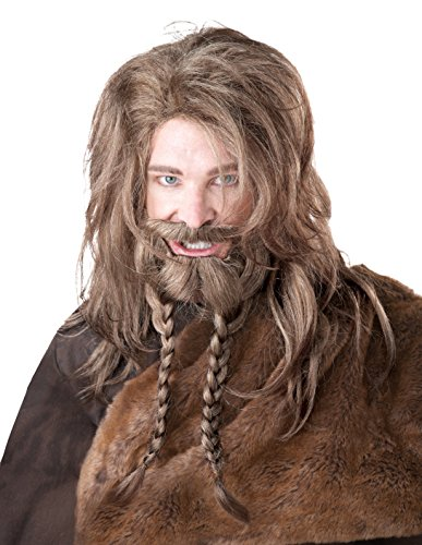 California Costumes Men's Viking Wig Beard and Moustache