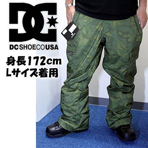 DC SHOE(ディーシーシュー) DCSHOE スノーボードウェア CODE パンツ GRE6 OVERLAY CAMO 14-15(メンズ 男性 mens)2015 スノーボードウェア L