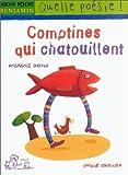 echange, troc François David, Émilie Chollat - Comptines qui chatouillent
