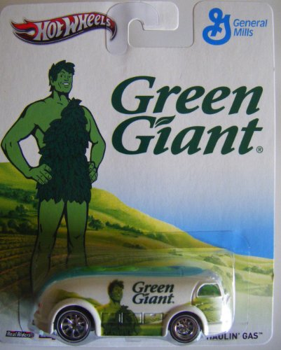 HOT WHEELS POP CULTURE GREEN GIANT HAULIN' GAS