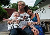 (11.7 X 8.3) The Place Beyond The Pines Movie Print Signed (Pre-print Autograph) Ryan Gosling