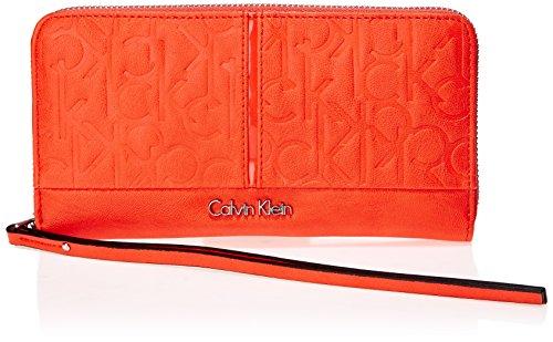 Calvin Klein Jeans MADDIE LARGE ZIP AROUND J6EJ600474 Damen Geldbörsen 19x10x3 cm (B x H x T)