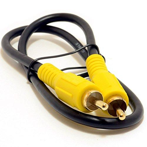 Cinch Fiche Digital coaxial SPDIF Audio ou Composite Vidéo câble 0,5 m