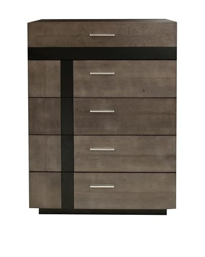 Urban Spaces Stonehenge High Chest, Gray