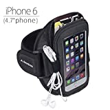 """Avantree Ninja Sports Armband For IPhone 6 (4.7"""")/ 5/5S/5C/4GS, Galaxy S3/S4, LG G2, HTC One Etc. Easy Fitting..."""