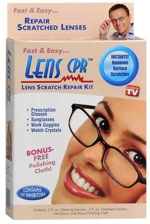 Lens CPR Lens Doctor - Repair Scratched And Cloudy Glasses!