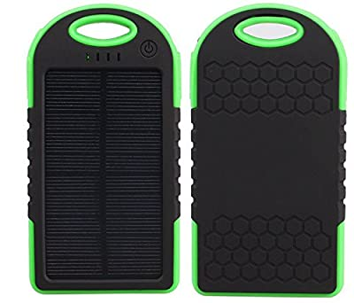 BlueTech 5000mAh Solar and Wall Plugin Charger
