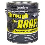 SASHCO SEALANTS 14024 Roof Sealant (Color: Clear, Tamaño: Gallon - Low VOC)