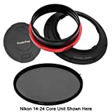 Fotodiox WonderPana 145 Essentials Kit - System Holder, Lens Cap and CPL Filter for the Nikon 14-24mm f/2.8G ED AF-S Nikkor Wide Angle Zoom Lens