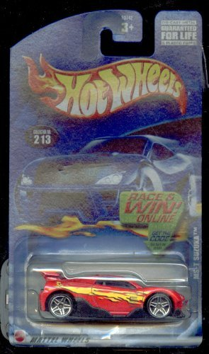 Hot Wheels 2001-213 Race and WIN Card Ms-t Suzuka 1:64 Scale