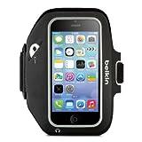 【国内正規代理品】belkin ベルキン iPhone5s/5c/5/touch5セダイスポーツフィット+アームバンドBK/GY  F8W427B3C00-A