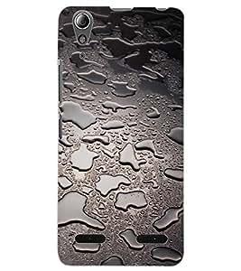 ColourCraft Beautiful Rain Pattern Design Back Case Cover for LENOVO A6000