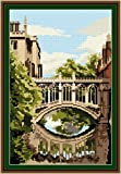 Brigantia Needlework Bridge Of Sighs Tapestry Picture Kit in Tent Stitch