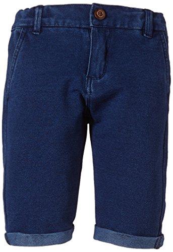 NAME IT - Hjalte Kids Sweat Chino Long Pantaloncini 215, Pantaloncini per bambini e ragazzi, blu (dress blues), 116 (Taglia produttore: 116)