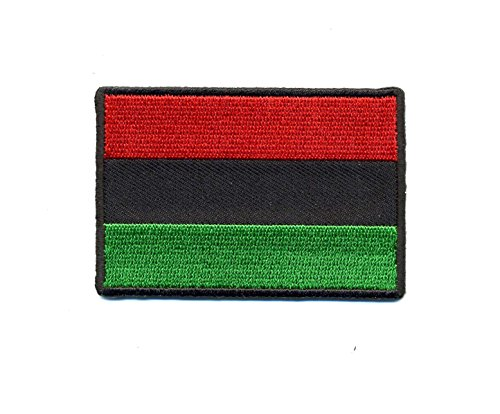 Embroidered Iron On Patch - African Colors 3