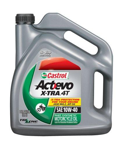 Castrol 03166 Actevo Xtra 10w 40 4 Stroke Motorcycle Oil