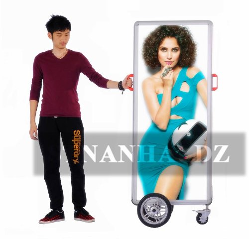 Stnanhai Alibaba Manufacturer,Indoor/Outdoor Banner Led Banner,Walking Indoor Or Outdoor Battery Operated For Outdoor And Indoor Use