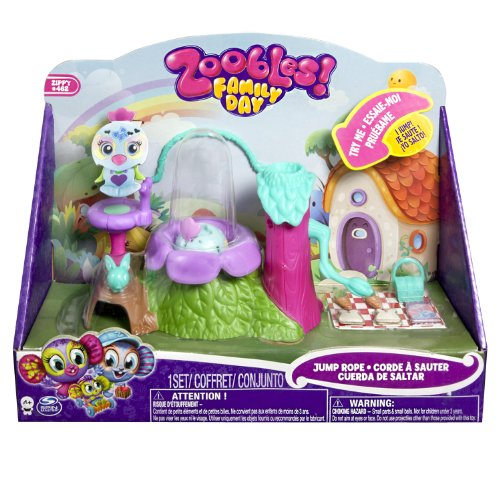 Zoobles - Family Jump Rope Mini Playset - 1