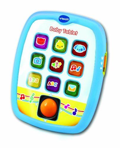 VTech Baby - Tablet para bebes, 9-36 meses, color azul (3480-138247)