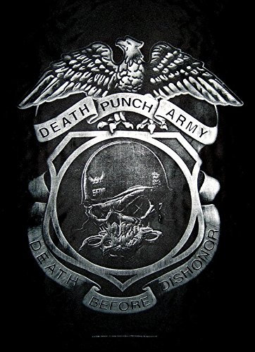 Five Finger Death Punch - Bandiera Death Before Dishonor