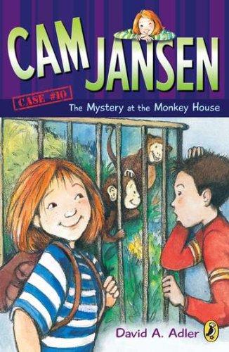 CAM Jansen: The Mystery of the Monkey House #10 (Cam Jansen Adventure)