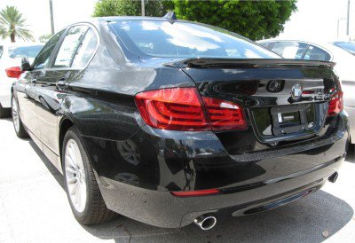 2011 2012 2013 bmw 5 series f10 sedan real carbon fiber. Black Bedroom Furniture Sets. Home Design Ideas