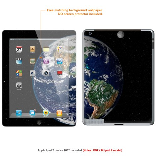 MATT Protective Decal Skin skins Sticker (matte finish) forApple Ipad 2 (second generation releade 2011) case cover IPAD2-6