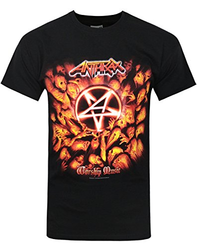 Uomo - Official - Anthrax - T-Shirt (XXL)