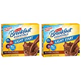Carnation Breakfast Essentials Light Start Powder Drink Mix, Rich Milk Chocolate.705 Oz, 8 Ct (Pack of 2)