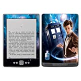 Diabloskinz Vinyl Adhesive Skin Decal Sticker for Amazon Kindle - The Doctor and Tardis
