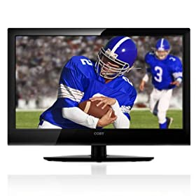 Coby LEDTV2226 22-Inch 1080p HDMI LED TV/Monitor, Black