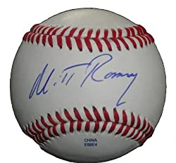 2012 Presidential Republican Candidate Mitt Romney Autographed Rolb Baseball, PSA/DNA Authenticated