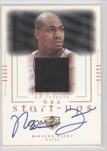 Marcus-Fizer-Basketball-Card-2000-01-Upper-Deck-Reserve-NBA-Start-Ups-Autographs-MF-A