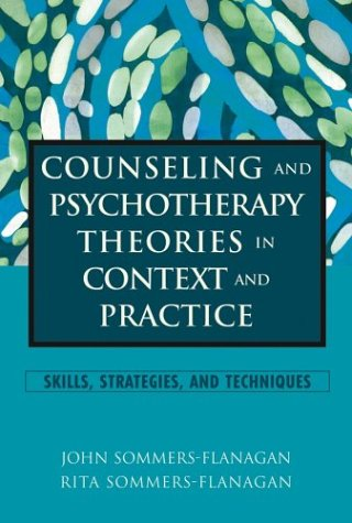 Counseling and Psychotherapy Theories in Context and...