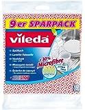 Vileda Spültuch mit 30% Microfaser, 9er Sparpack