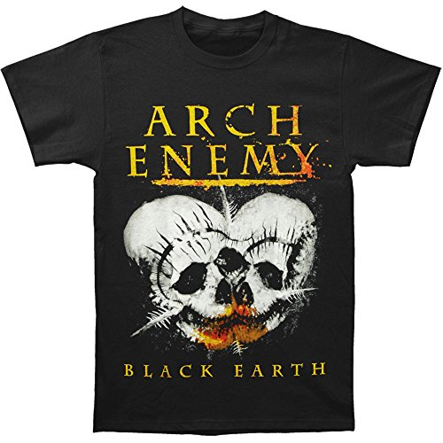 Kumiu Arch Enemy Men's Black Earth T-shirt Black