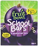 Fruitbowl Blackcurrant School Bars Multi-Packs 20 g (Pack of 12, Total 60 Bars)
