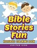 Bible Stories Fun: Religious Coloring Book